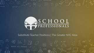Substitute Teacher Positions Available in The Greater NYC Area