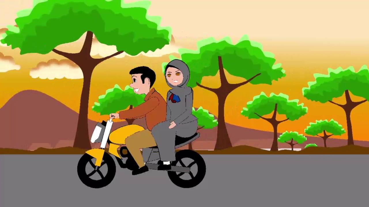 Download 660 Gambar Animasi Naik Motor Free Downloads