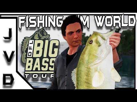FISHING SIM WORLD Gameplay | Big Bass Tour #1 | How Did We Do? | Bass Fishing | PC, PS4, XBox One