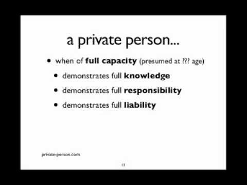 The Hidden Power of private person and natural person Webinar
