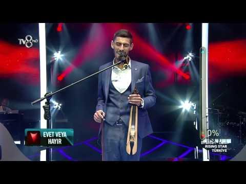 Tv8 Rising Star Türkiye Kürşat Gürel (Diz Dize) Canlı Performans