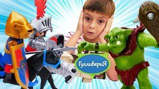 Playmobil игрушки. Видео для детей. Рыцарский турнир