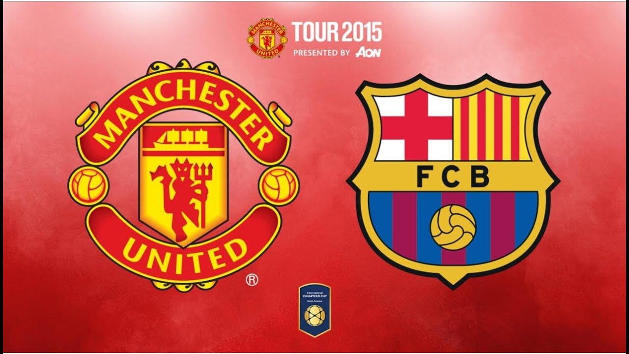 Chelsea Vs Manchester United Vs Fc Barcelona: FC Barcelona Vs Manchester United 1-3 All Goals And Full