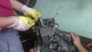 Honda Crf 450, wybuch silnika, engine blow.