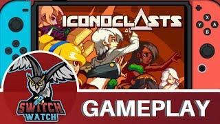 Iconoclasts Nintendo Switch Gameplay