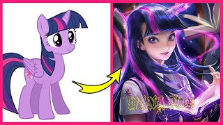 My Little Pony Characters If They Were Humans | WANA Plus