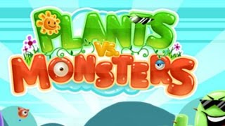Plants Vs Monsters Level1-10 Walkthrough