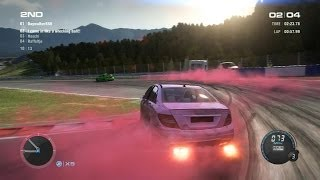 Grid 2 Multiplayer: Wow... so pink...