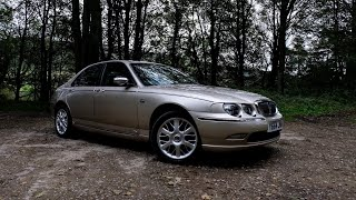 the Best Budget Executive Car -  Rover 75 Review