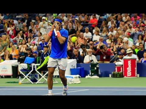 Rafael Nadal - 7 epic 5 sets matches lost