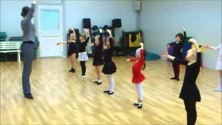 Урок по ритмике и партерной гимнастике