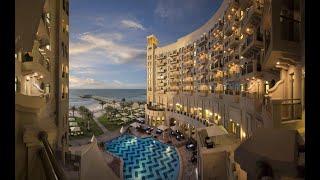 BAHI AJMAN PALACE HOTEL 5 Бахи Аджман Пелас отель ОАЭ Аджман обзор отеля территория пляж