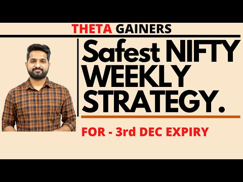 Weekly Option Selling Strategy | Theta Gainers | Expiry 3rd December