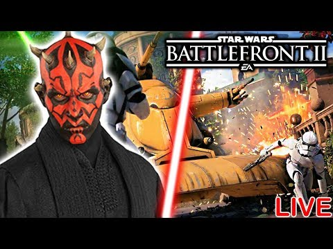 Download Youtube: Star Wars Battlefront 2 BETA GAMEPLAY - LIVE!!