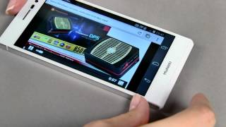 Huawei Ascend P7 - стильный, тонкий смартфон