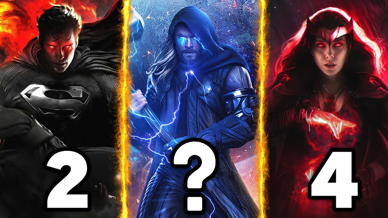 Download Top 10 Most Powerful Superheroes (2021) / Explained in Hindi