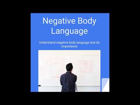 negative dating body language