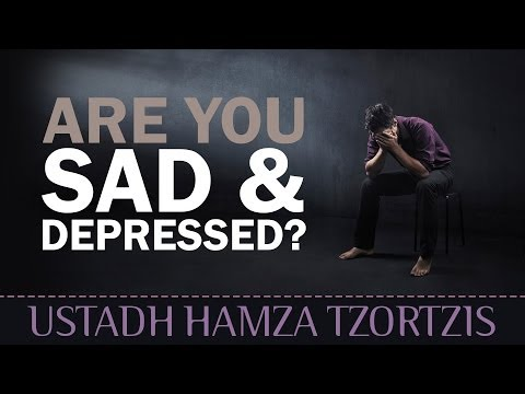 Are You Sad & Depressed? - Watch This! ᴴᴰ ┇ Islamic Reminder ┇ by Ustadh Hamza Tzortzis ┇ TDR ┇