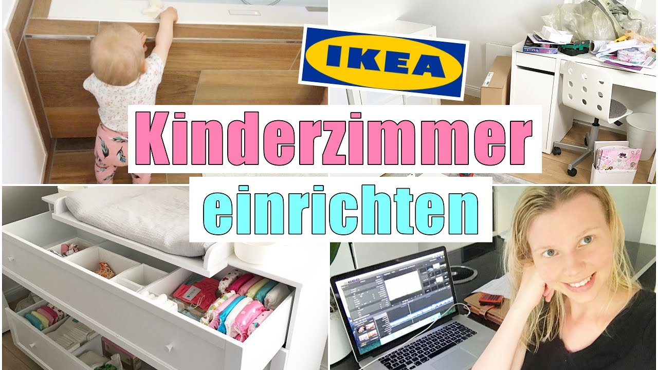leona bekommt ihr neues kinderzimmer ikea m bel aufbauen 26 ssw isabeau youtube. Black Bedroom Furniture Sets. Home Design Ideas