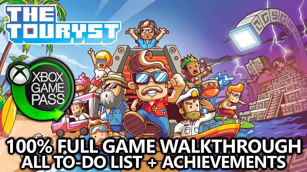 The Touryst 100 Full Game Walkthrough All To Do List Achievements On Xbox Game Pass Youtube