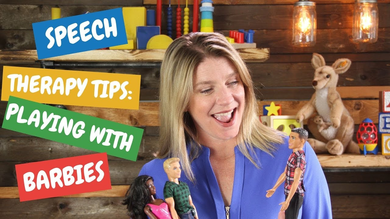 Speech Therapy Tips: Playing With Barbies!