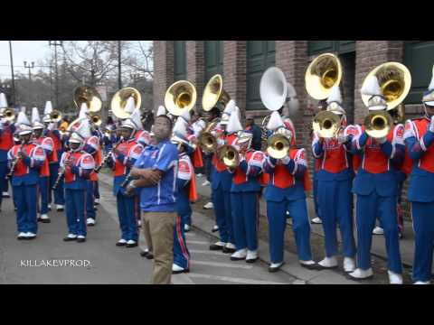 Belaire High School Marching Band - Party Don't Stop @ 2015 Orpheus Parade