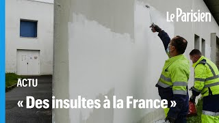 Tags islamophobes à Rennes : Gérald Darmanin exprime son « dégoût »
