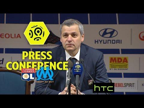 Press Conference Olympique Lyonnais - Olympique de Marseille (3-1) Week 21 / 2016-17