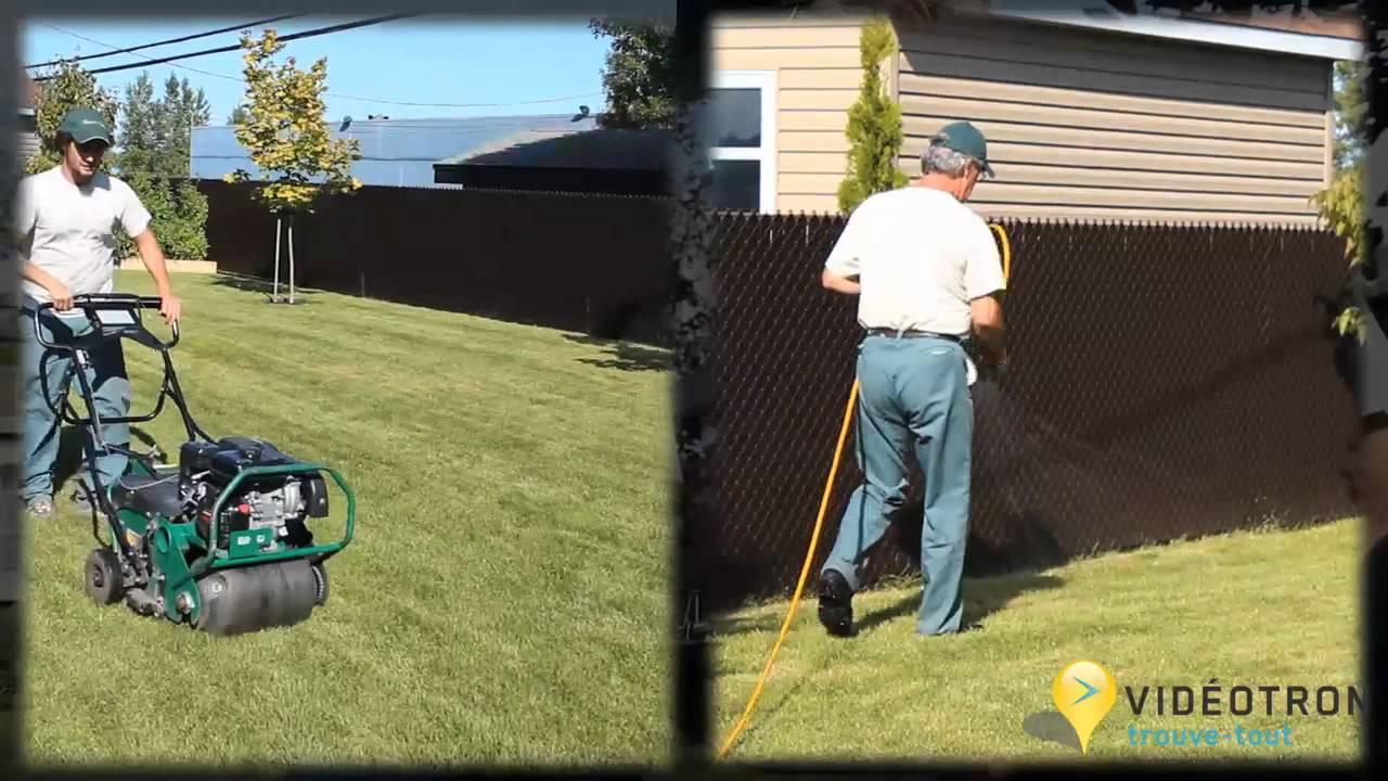 Service d 39 entretien de pelouse pousse vert inc for Service entretien pelouse
