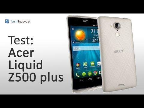 Acer Liquid Z500 plus | Test deutsch
