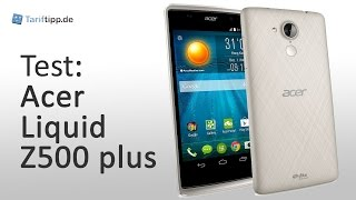 Acer Liquid Z500 plus | Test deutsch