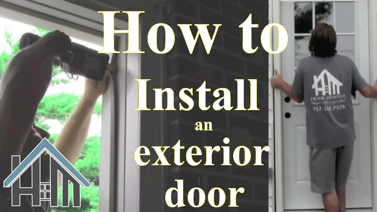 How To Install An Exterior Door And Jamb Replace Easy The Home