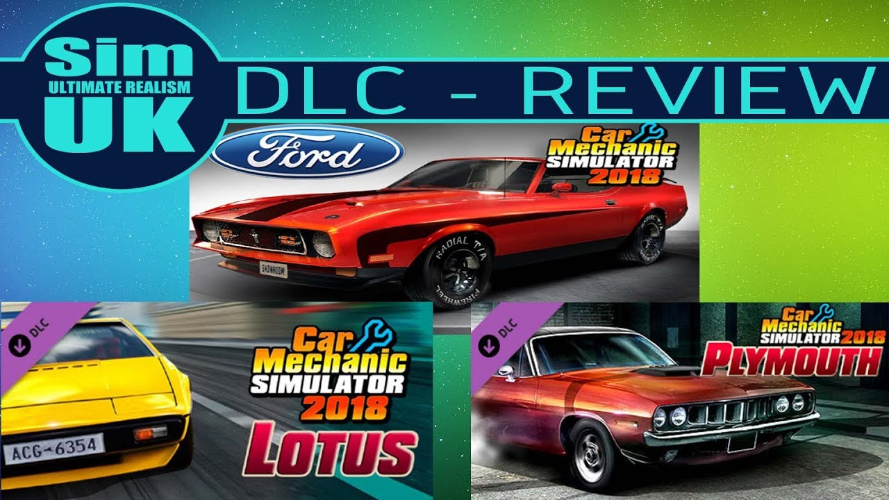 Lotus, Plymouth & FORD DLC - Car Mechanic Simulator DLC Review (Worst  Review EVER!)