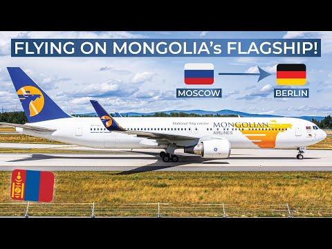 TRIPREPORT   MIAT Mongolian (ECONOMY)   Boeing 767-300   Moscow Sheremetjevo - Berlin Tegel