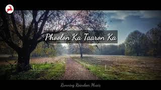 Download Lagu Phoolon Ka Taaron Ka by Kartiki Barge | Running Reindeer Music MP3