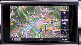 Audi MMI Navigation Plus im Test - Teil 1 /2