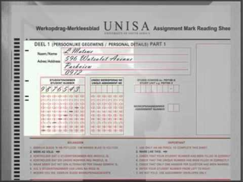 submit plan concerning myunisa