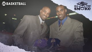 Vince Carter On Being Traded For College Teammate Antawn Jamison During 1998 Draft | ALL THE SMOKE