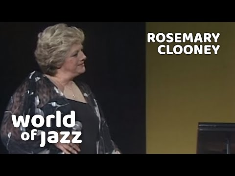 Rosemary Clooney - I Cried For You - 12 July 1981 • World of Jazz mp3