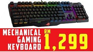 Mechanical Keyboard RM1299! - Asus ROG Claymore (Malay)