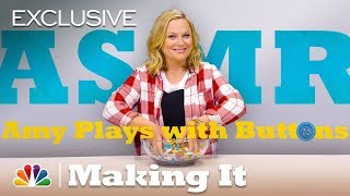ASMR: Amy Poehler Sifts Through Buttons - Making It