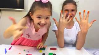 как можно сделать ногти из пластилина