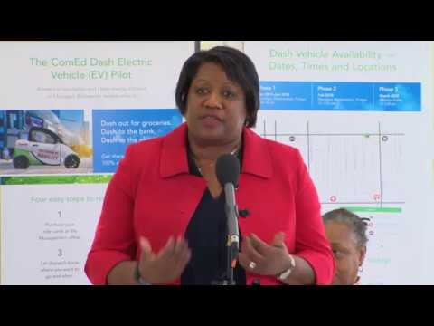 Melissa Washington: Dash EV Launch in Bronzeville