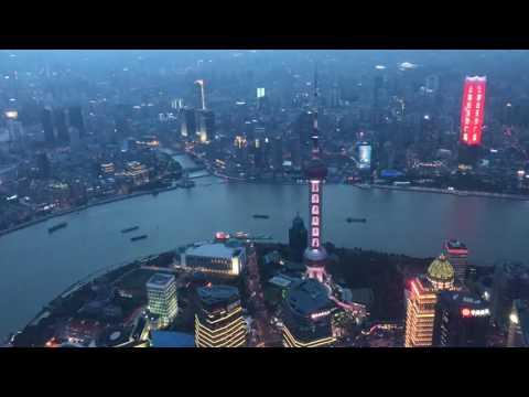 Shanghai City Timelapse from Shanghai Tower