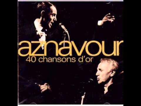 Charles Aznavour - Je M'voyais Deja