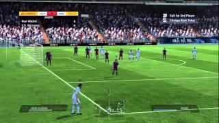 Fifa 11 Gameplay Barcelona FC vs Real Madrid   HD