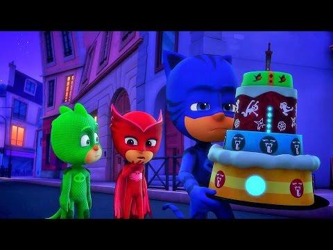 Герои в масках 43 44 45 Гекко камень всесилия Кэтбой и лунный КУПОЛ Супергерои все серии подряд в HD