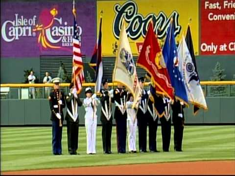 July 4th National Anthem, Coors Field