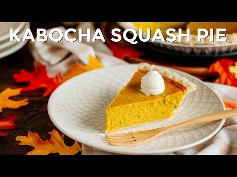 How To Make Kabocha Squash Pie (Recipe) かぼちゃパイの作り方(レシピ)