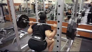 olympia shred 50 days out jeff seid leg workout